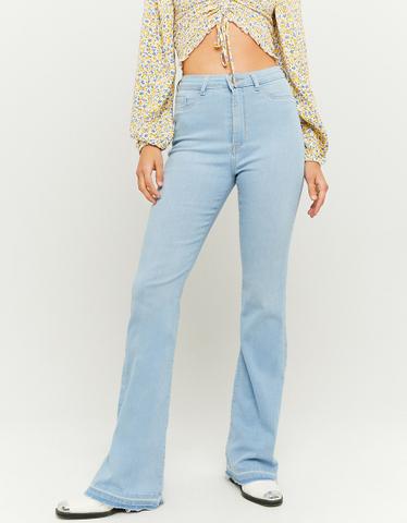 Jeans a Zampa e Vita Alta
