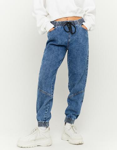 High Waist Slouchy Joggers Jeans
