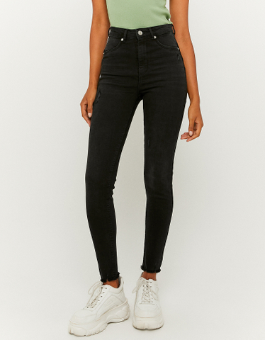 Jeans Push Up a Vita Alta