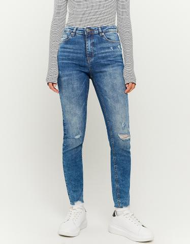 Jean Skinny Taille Haute 7/8ème