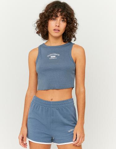 Blue Sweatshorts