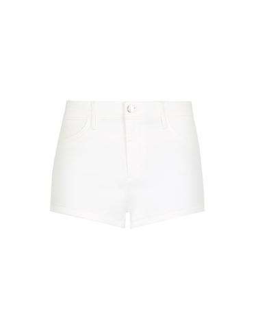Weiße Push-Up Shorts
