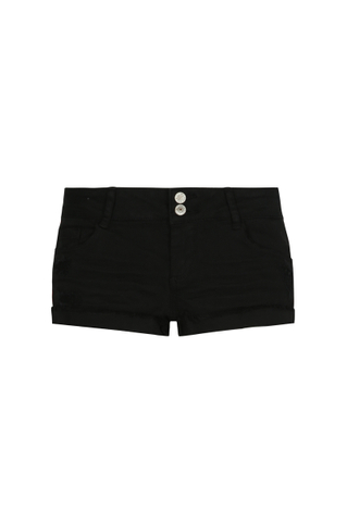 Black Side Stripe Shorts