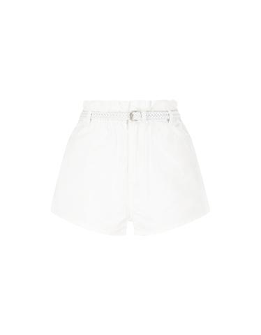 Pantaloncini Denim Bianchi