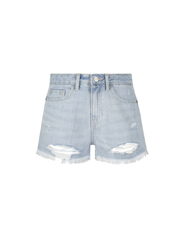 Blaue Destroy Shorts