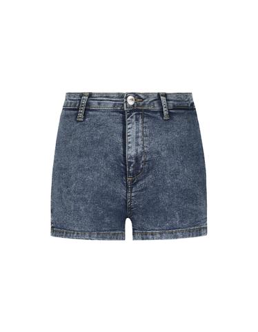 Skinny High Waist Denim Shorts
