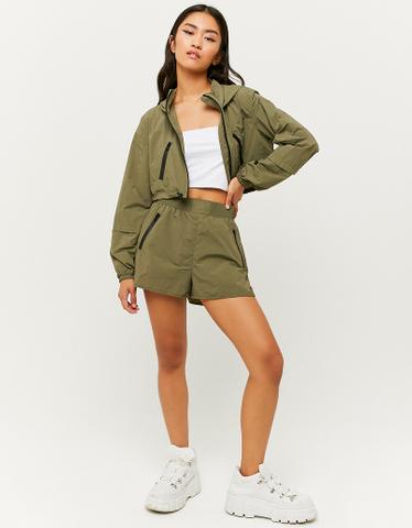 Green Lightweight Shorts