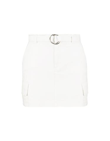 High Waist Utility Skirt