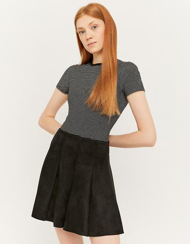 Suedette Skater Skirt