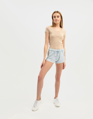 T-shirt Beige Basica
