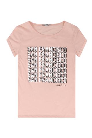 Rosa T Shirt San Francisco Tally Weijl Online Shop