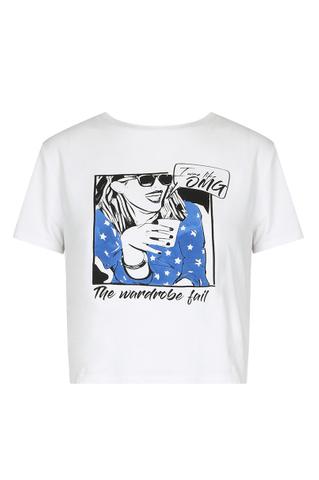 Biały t-shirt