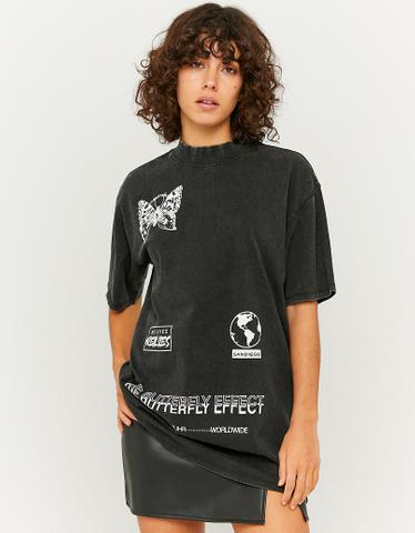 T-Shirt Long Imprimé