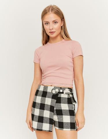 Pinkes Crop Top