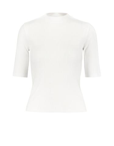 Top Basique Manches Longues Blanc