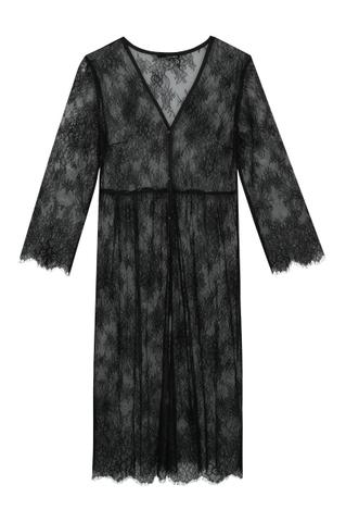Kimono in Pizzo Trasparente