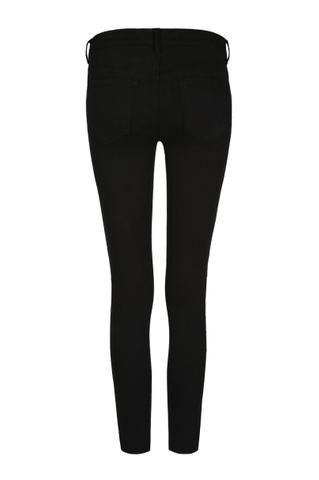 Schwarze  Jeans mit Paillletten