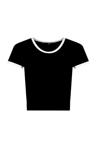 Black Short Top