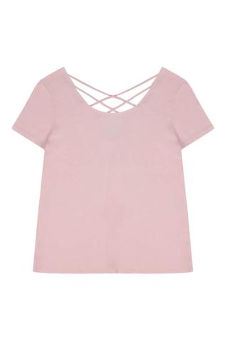 Pink Loose T-Shirt