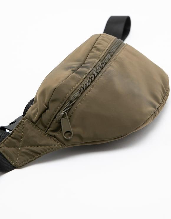 Khaki Belt Bag