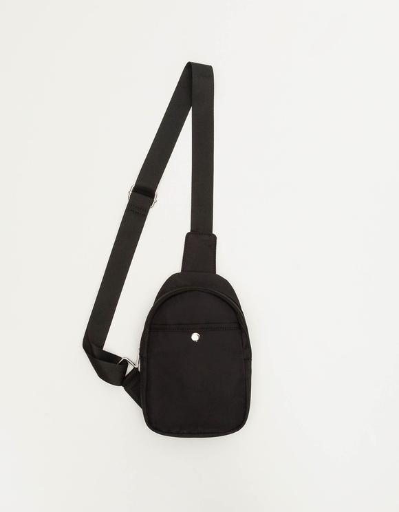 Black Front Bag
