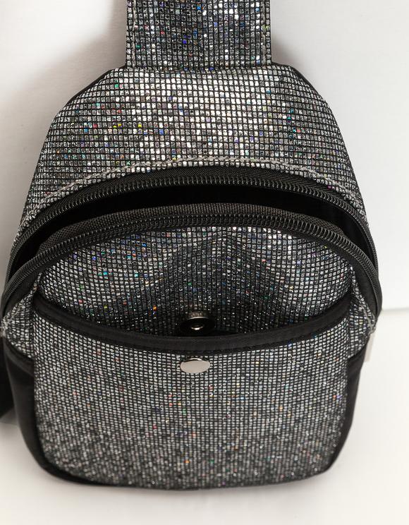 Glitter Front Bag