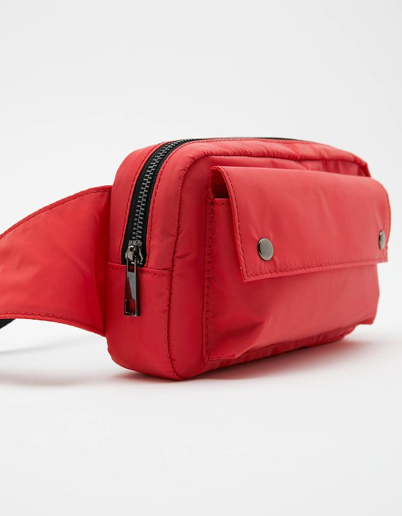 Red Hologram Belt Bag