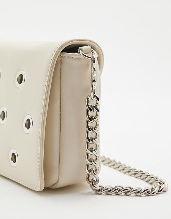 Eyelet Crossbody Bag