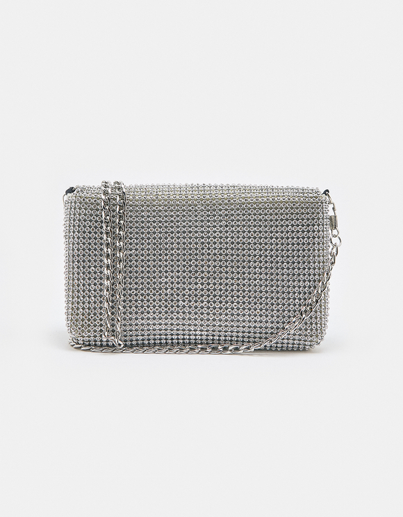 Rhinestone Mini Crossbody Bag