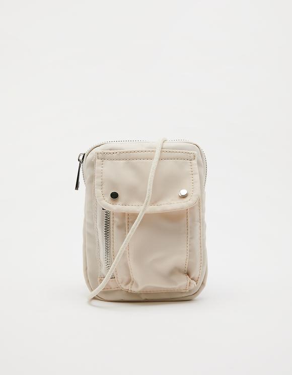 Nylon Utility Crossbody Bag