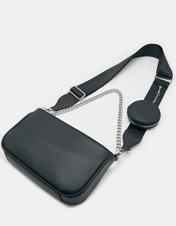 Multi-Taschen Umgehängetasche