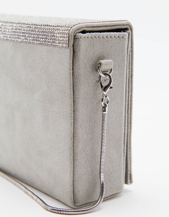 Square Clutch with Removable Strap