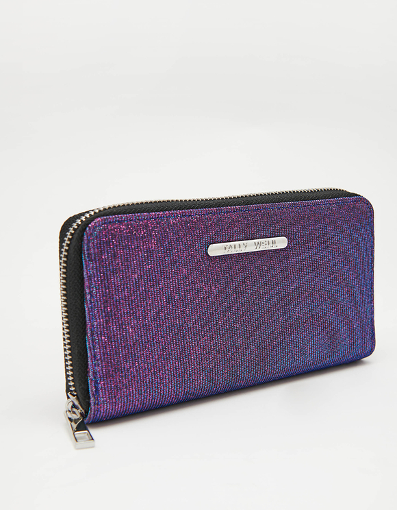 Purple Glitter Wallet