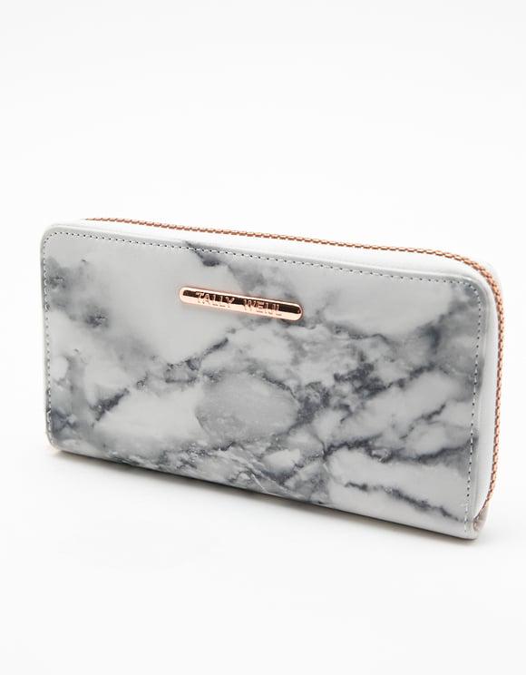 Brieftasche mit Marmor-Muster