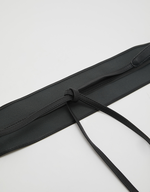 Black Belt To Tie