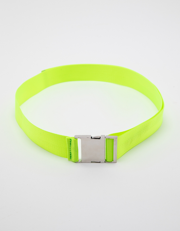 Neon Safety Buckle-style Belt