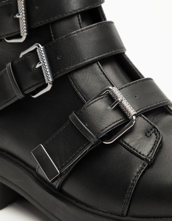 Biker Ankle Boots