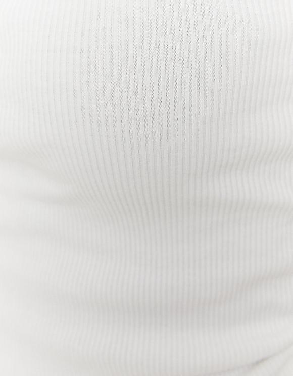 Canottiera Arricciata
