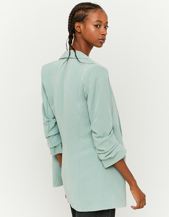 Mint Open Front Blazer