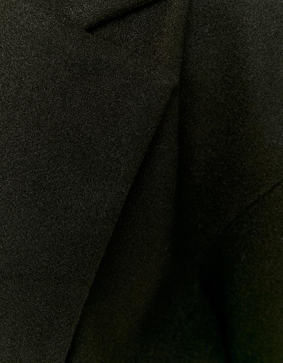 Black Wrap Coat