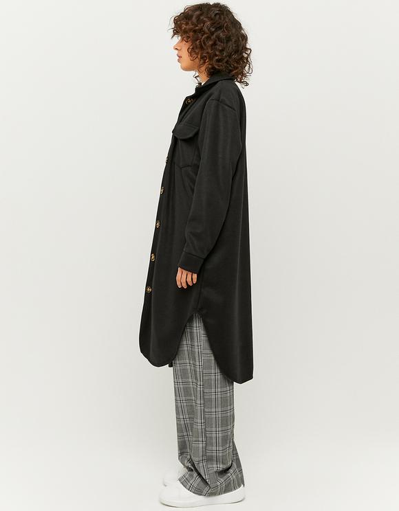 Giacca-Camicia Lunga Nera