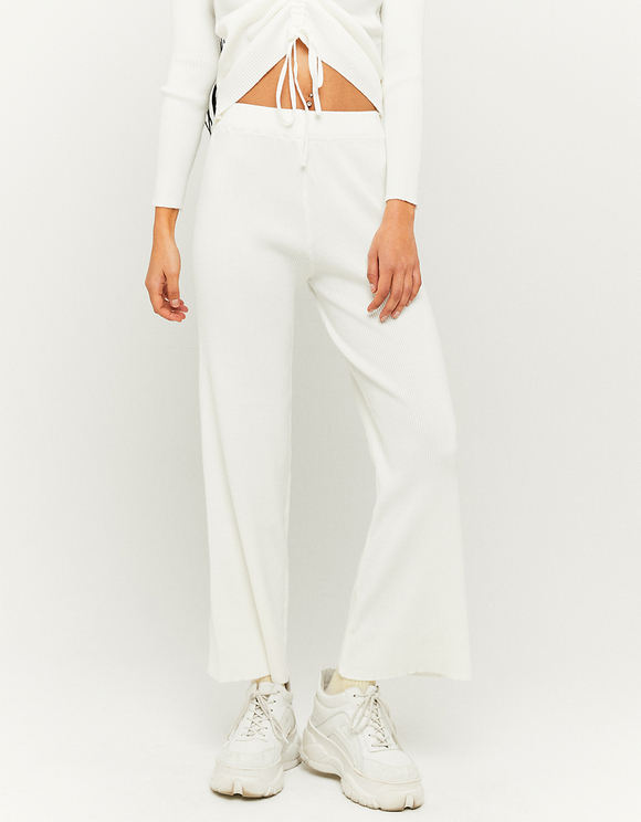 Flare Knitted Trousers