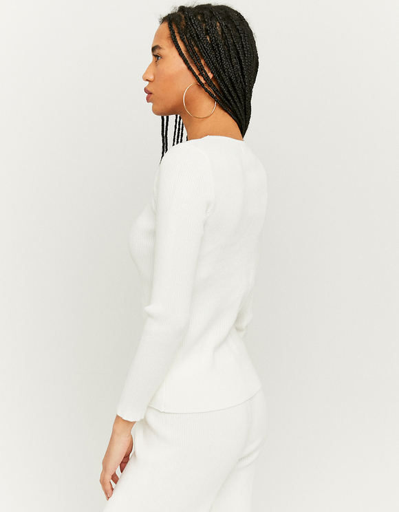 Knitted Ruched Top