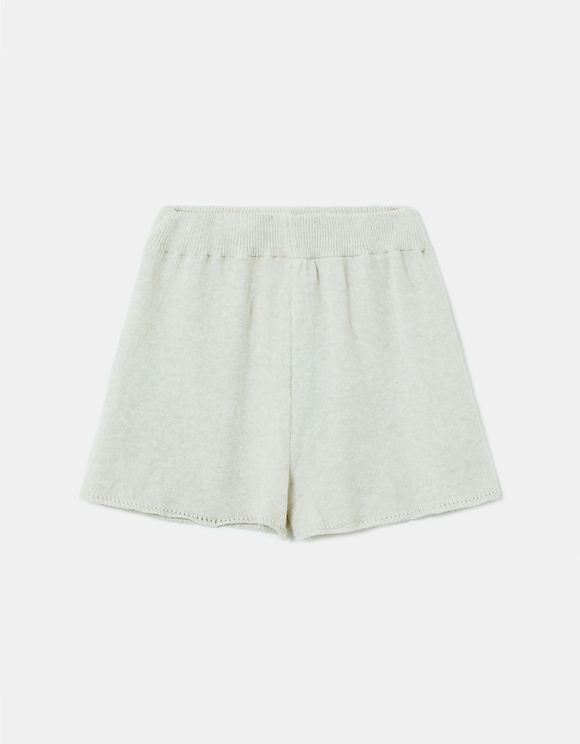 Pantaloncini Bianchi in Maglia