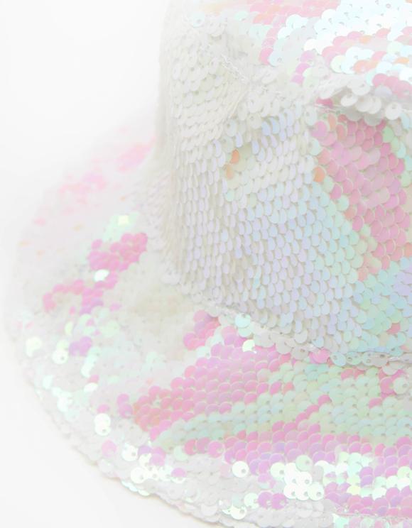 Sequin Bucket Hat