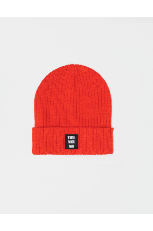 Orange-Red Beanie