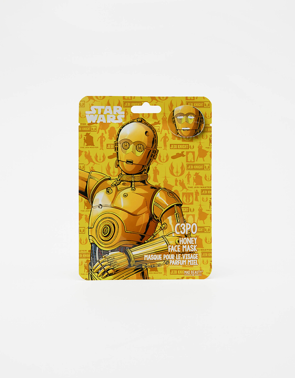 Mad Beauty Star Wars C3PO Face Mask