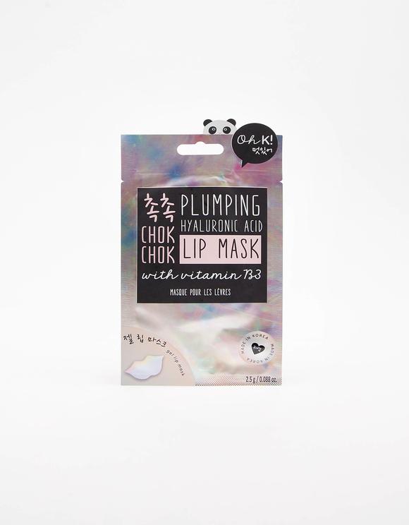 Masque Lèvres en Tissu Holographique Oh K!