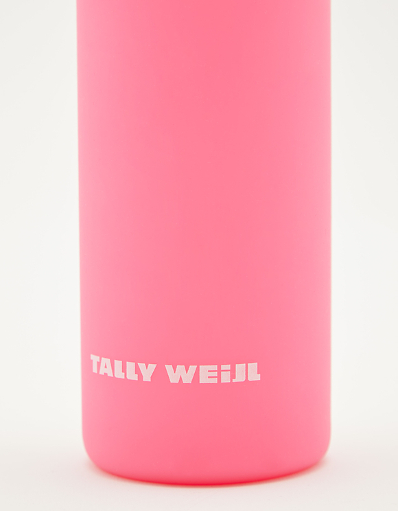 Pink Silicone Glass Bottle