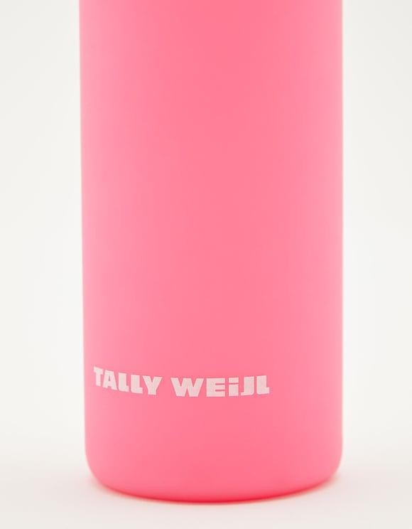 Rosa Silikon Glasflasche